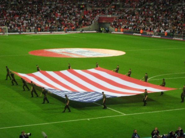 American Flag wembley