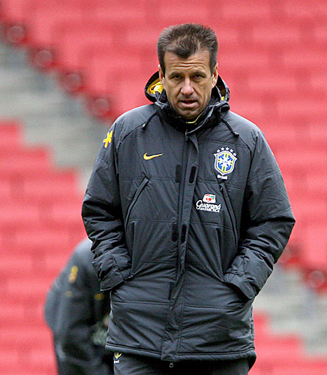Dunga Coach World Cup Brazil Squad
